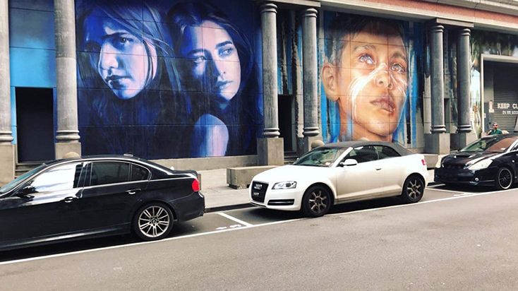 Melbourne street art (Image courtesy of Associated Press)