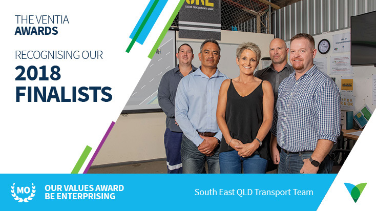 Pictured: Members of the South East Queensland Transport Team