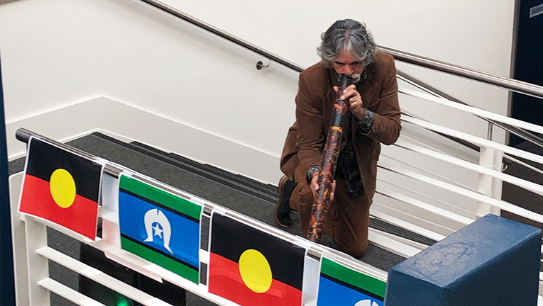 Visionstream's Heatherton Office celebrates NAIDOC Week