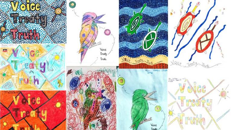 Visionstream's Heatherton and Kingsgrove offices took part in a NAIDOC Week poster competition.