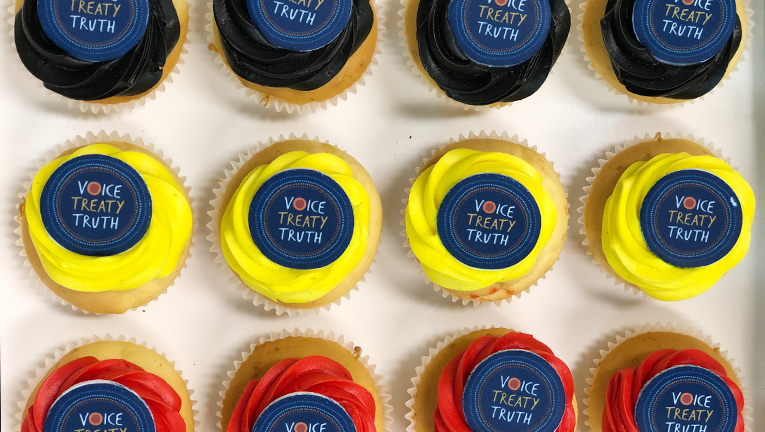The Burwood office also enjoyed some themed NAIDOC Week cupcakes.