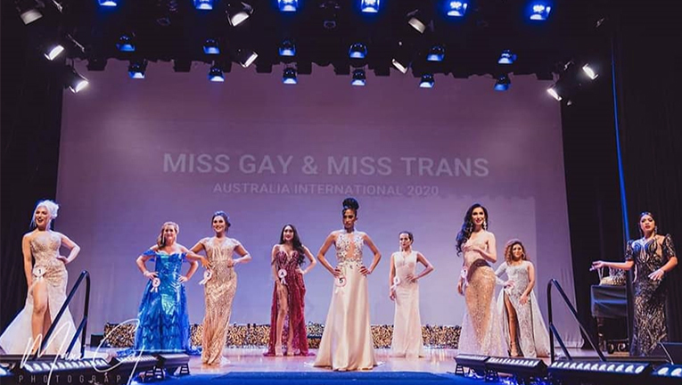 Taylor Cougle - Miss Gay and Miss Trans pageant