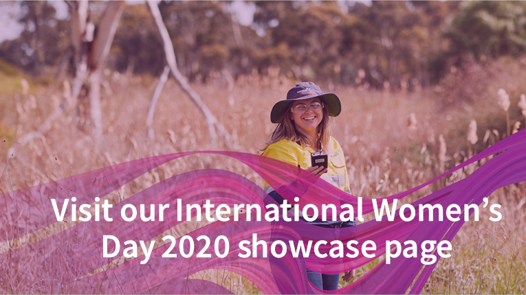 Ventia's International Women's Day showcase page