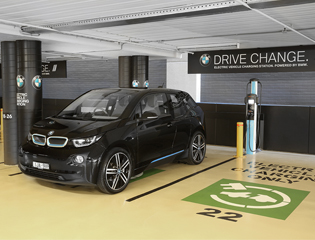 ChargePoint charging bays now at Westfield shopping centres