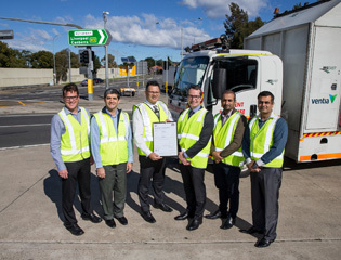 M5 East Motorway certified to International Standard