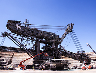 Maintaining equipment and power systems at Yallourn coal mine