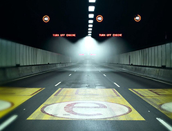 Testing deluge systems at Sydney's M2 Tunnel