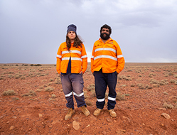 Working closely with the Kokatha People in South Australia