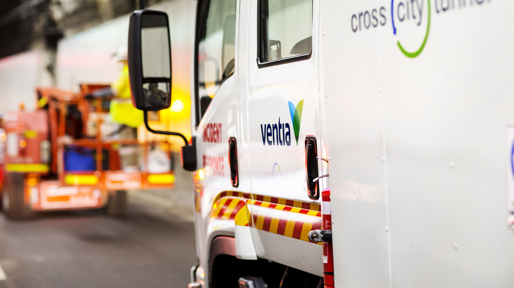 Ventia Cross City Tunnel incident response truck