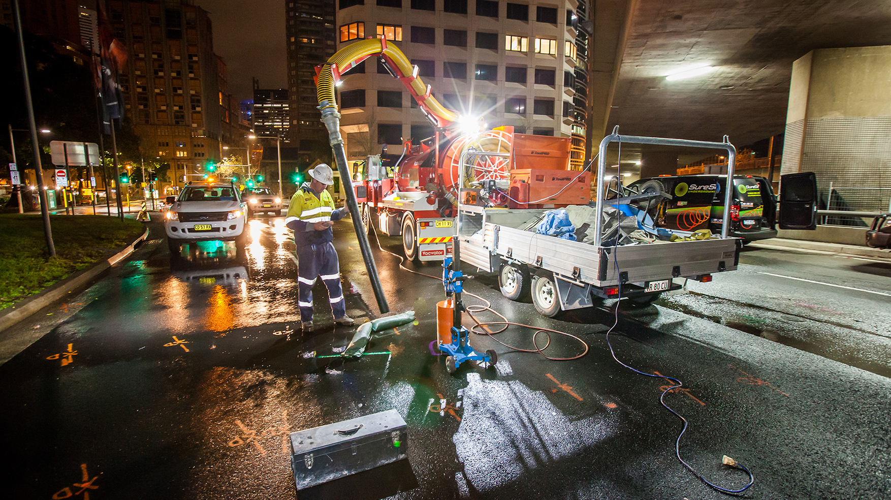 Sydney Harbour tollbooth removal Ventia SMC