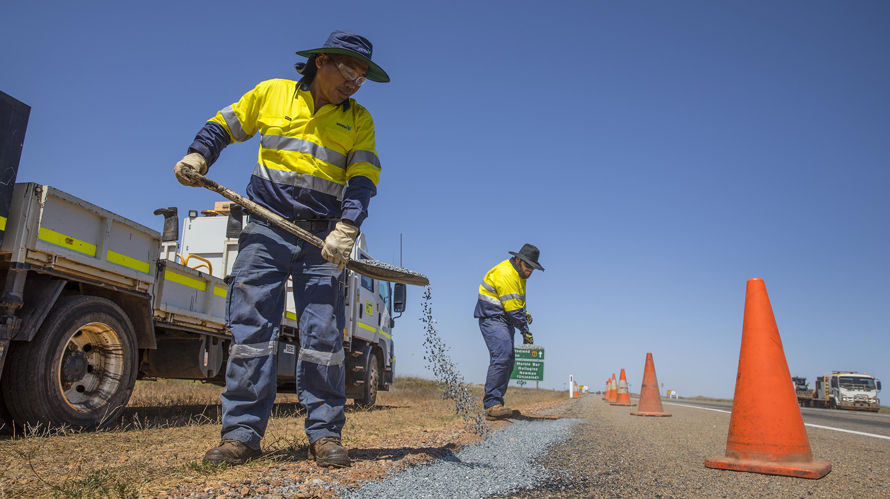 Road maintenance, improvements, WA, Western Australian, works